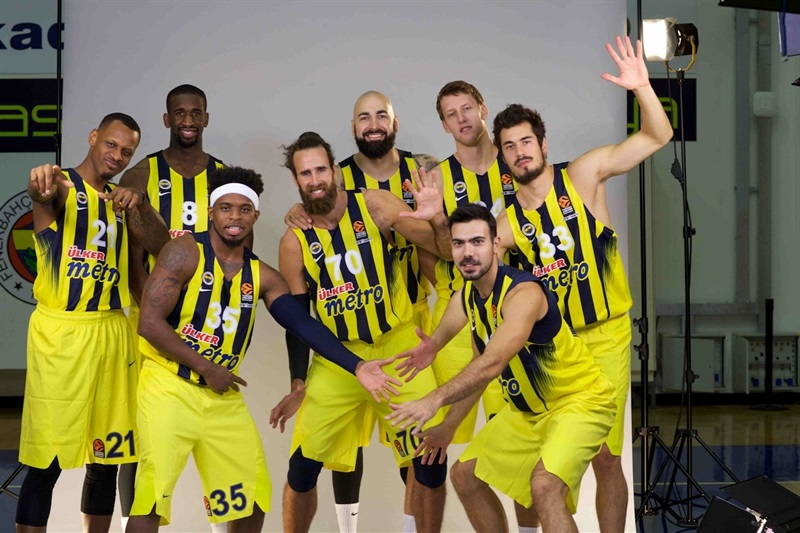 Players Fenerbahce Istanbul in Media Day 2016 - EB16