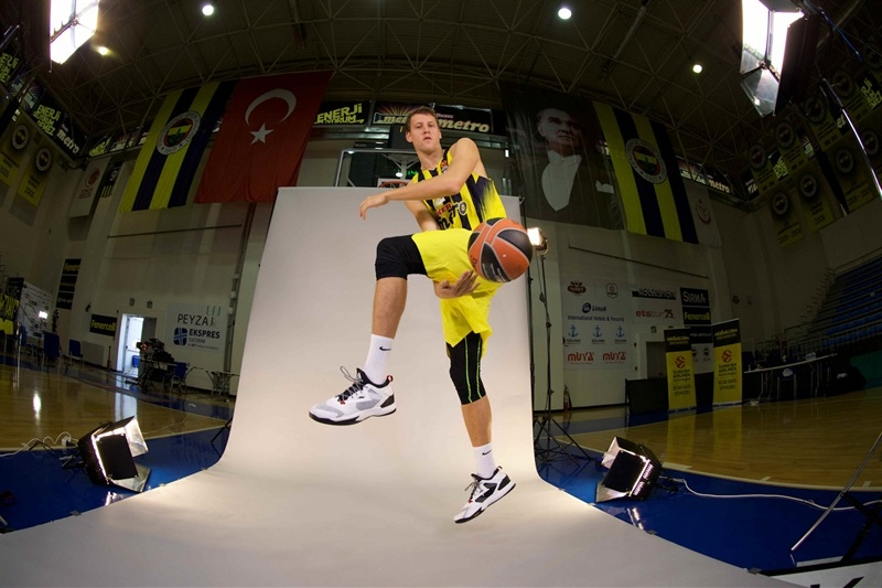 Jan Vesely - Fenerbahce Istanbul Media Day 2016 - EB16