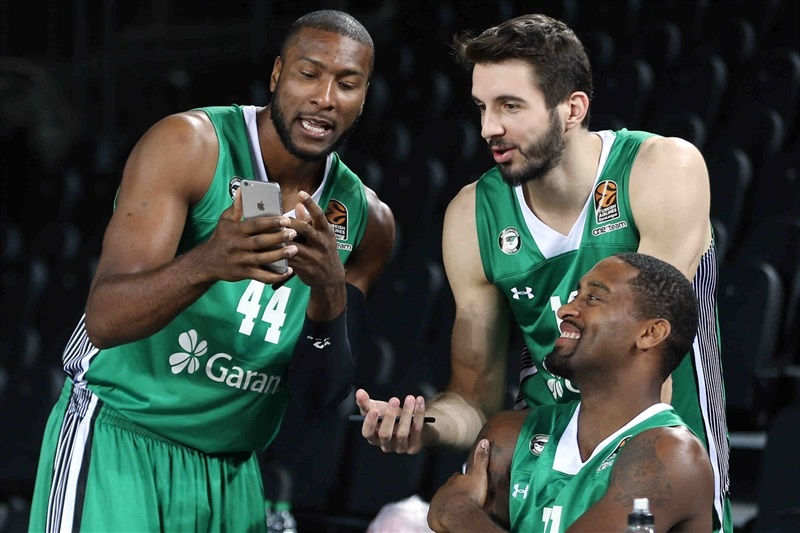 Marcus Slaughter - Darussafaka Dogus Istanbul Media Day 2016 - EB16