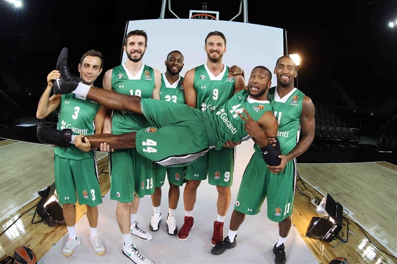 Players Darussafaka Dogus Istanbul in Media Day 2016 - EB16