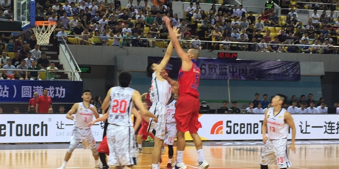 CSKA beats Guangdong to complete sweep of China Tour