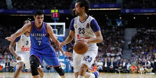 NBA Global Games: Real Madrid vs. Oklahoma City Thunder