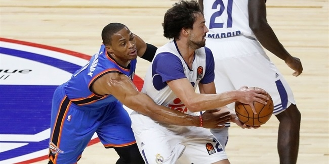 NBA Global Games: Madrid rallies from 22 down to top Thunder in OT