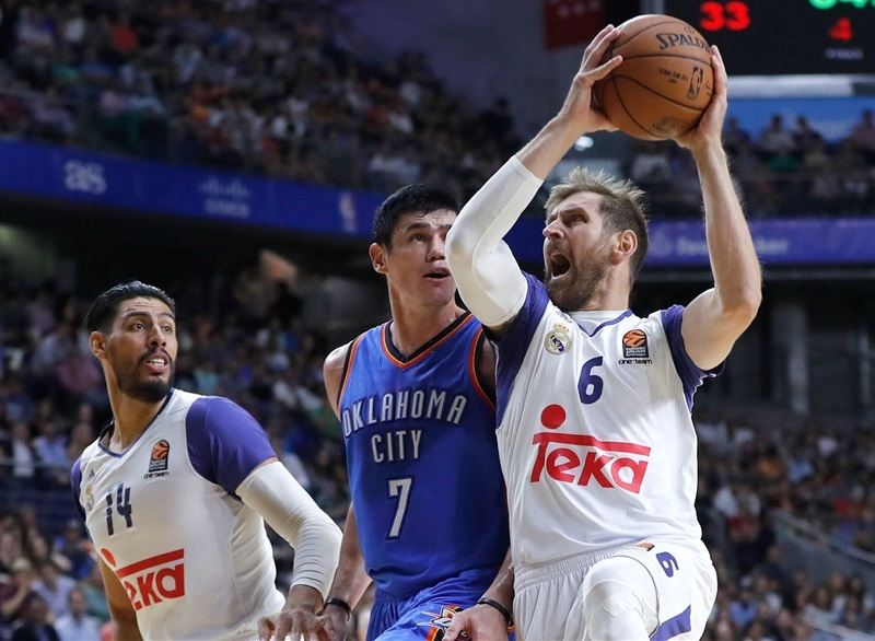 Andres Nocioni - Real Madrid vs. Oklahoma City Thunder - NBA Global Game 2016 - EB16 (photo Realmadrid.com)