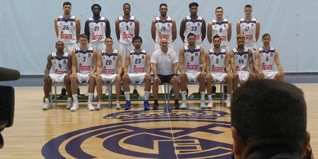 2016-17 Media Day: Real Madrid