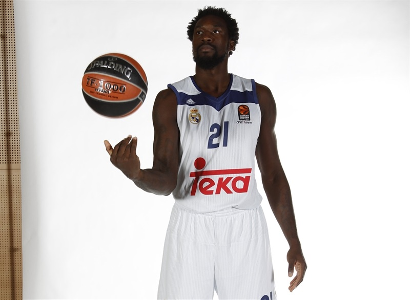 Othello Hunter - Real Madrid Media Day 2016 - EB16