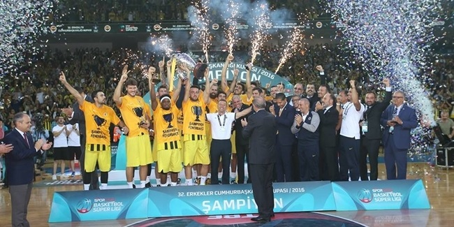Fenerbahce wins Turkish President's Cup