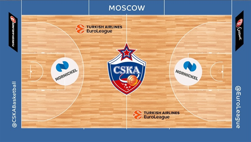 TAE Courts - CSKA Moscow