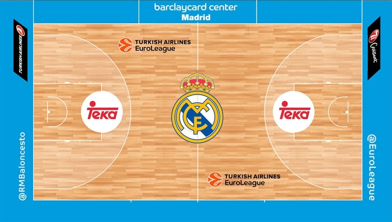 TAE Courts - Real Madrid
