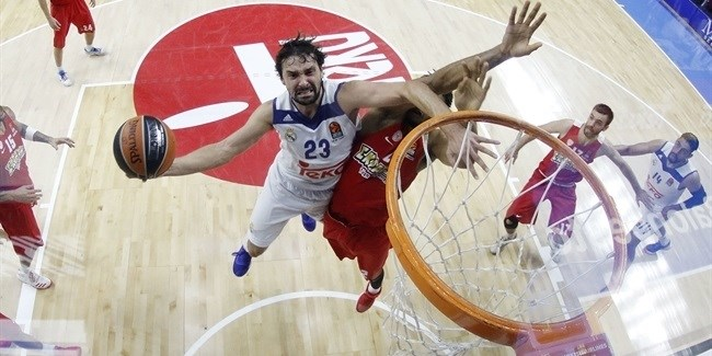 Regular Season, Round 1: Real Madrid vs. Olympiacos Piraeus