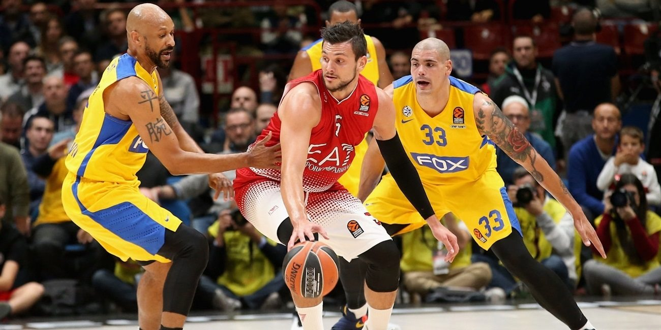 RS Round 1 report: EA7 Milan edges Maccabi FOX in dramatic finish