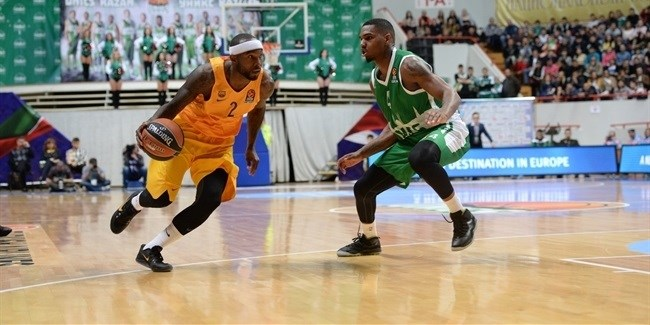 Regular Season, Round 1: Unics Kazan vs. FC Barcelona Lassa