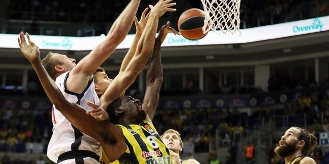 RS Round 1 report: Fenerbahce edges Bamberg behind Bogdanovic
