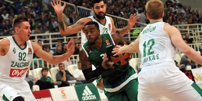 Regular Season, Round 1: Panathinaikos Superfoods Athens vs. Zalgiris Kaunas