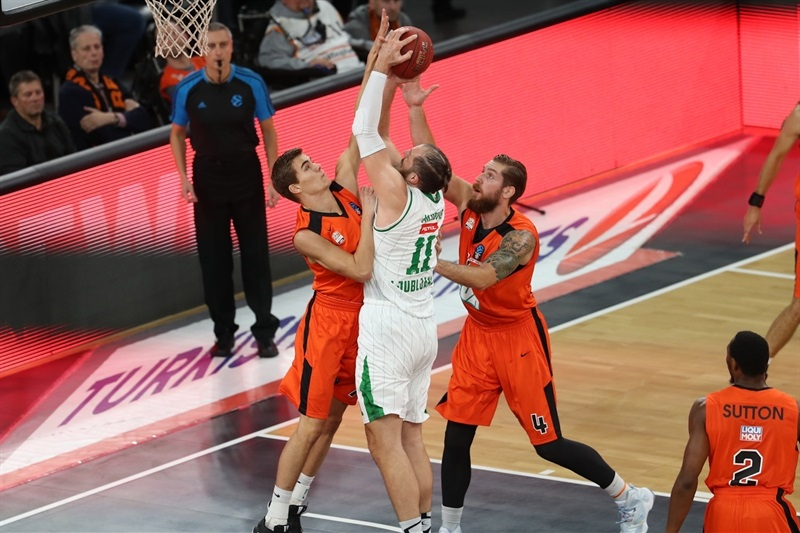 Stevan Milosevic - Union Olimpija Ljubljana - EC16 (photo Florian Achberger - Ratiopharm Ulm)