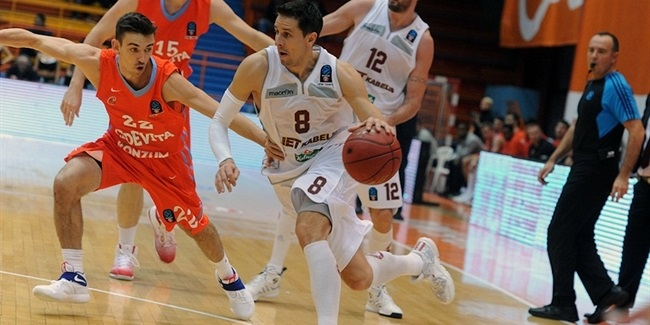 Regular Season, Round 2: Cedevita Zagreb vs. Lietkabelis Panevezys