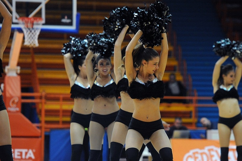 Cheerleaders - Cedevita Zagreb - EC16 (photo Cedevita)