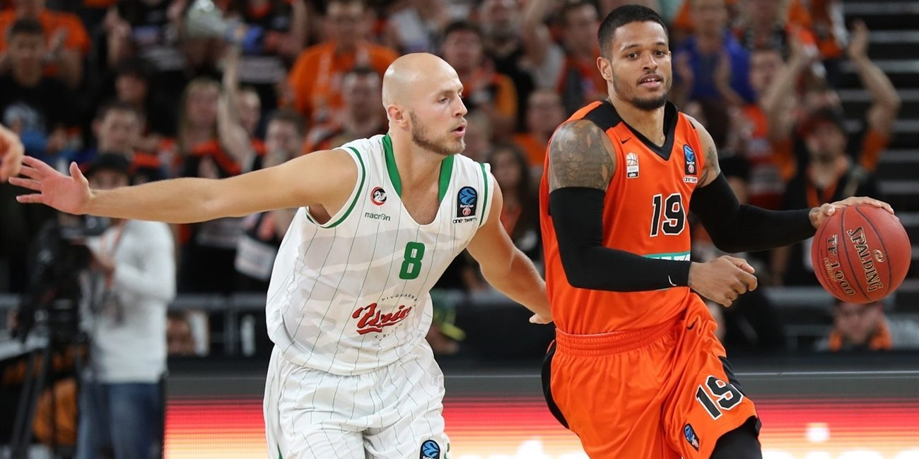 Regular Season, Round 2 report: ratiopharm Ulm 87-82 Union Olimpija Ljubljana