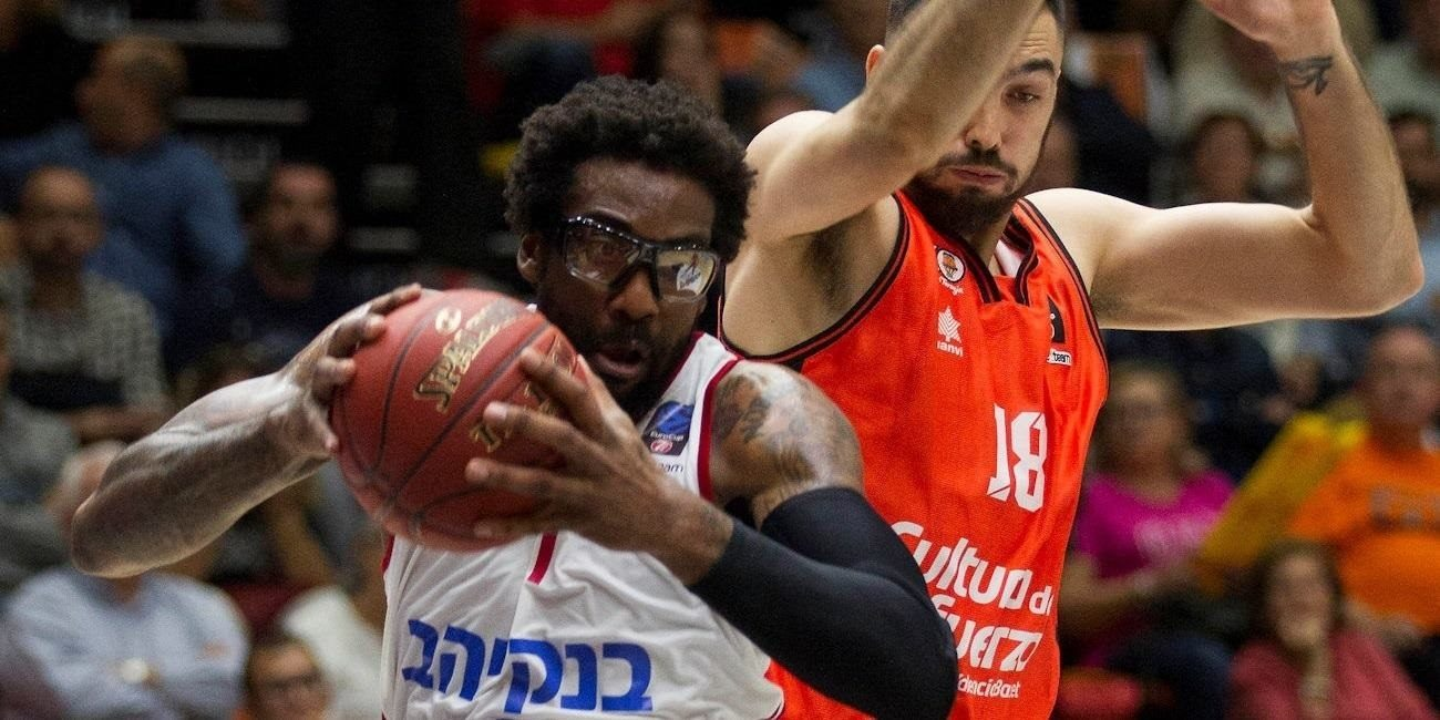 Regular Season, Round 2 report: Valencia Basket 77-81 Hapoel Bank Yahav Jerusalem