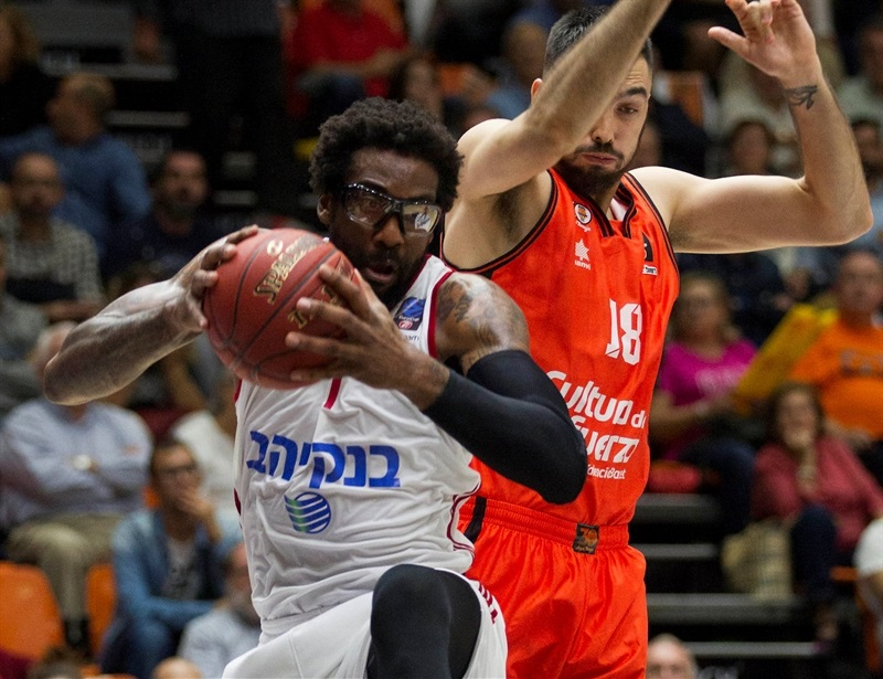 Amare Stoudemire - Hapoel Bank Yahav Jerusalem - EC16 (photo Valencia Basket - Miguel Angel Polo)
