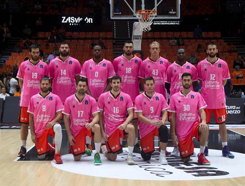 World Cancer Day - Valencia Basket - EC16 (photo Valencia Basket - Miguel Angel Polo)