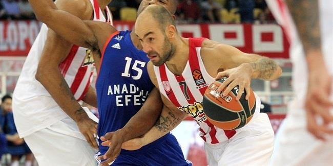 RS Round 2 report: Spanoulis makes history in leading Reds to rout of Efes