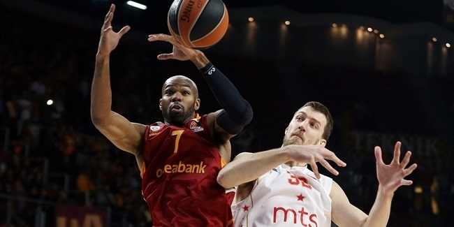 Regular Season, Round 2: Galatasaray Odeabank Istanbul vs. Crvena Zvezda mts Belgrade