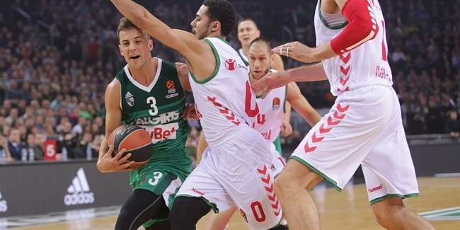 Regular Season, Round 2: Zalgiris Kaunas vs. Baskonia Vitoria Gasteiz