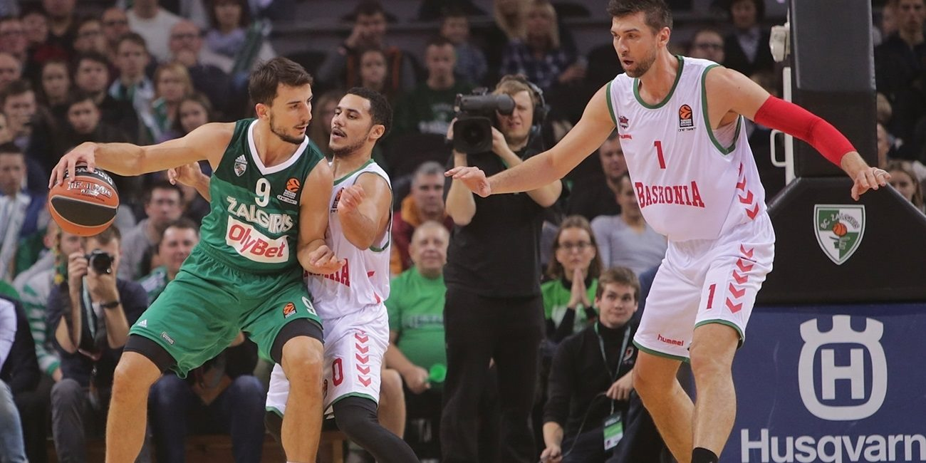 RS Round 2 report: Westermann's big game leads Zalgiris over Baskonia