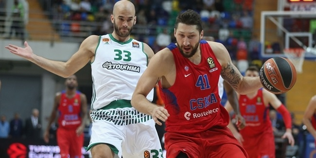 Regular Season, Round 2: CSKA Moscow vs. Panathinaikos Superfoods Athens