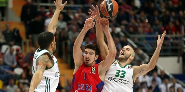 RS Round 2 report: CSKA gets 20 apiece from Vorontsevich, De Colo, to beat Panathinaikos