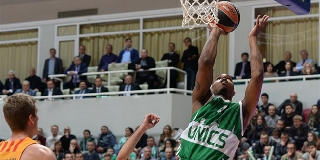 Unics loses Clarke for at least 6 weeks