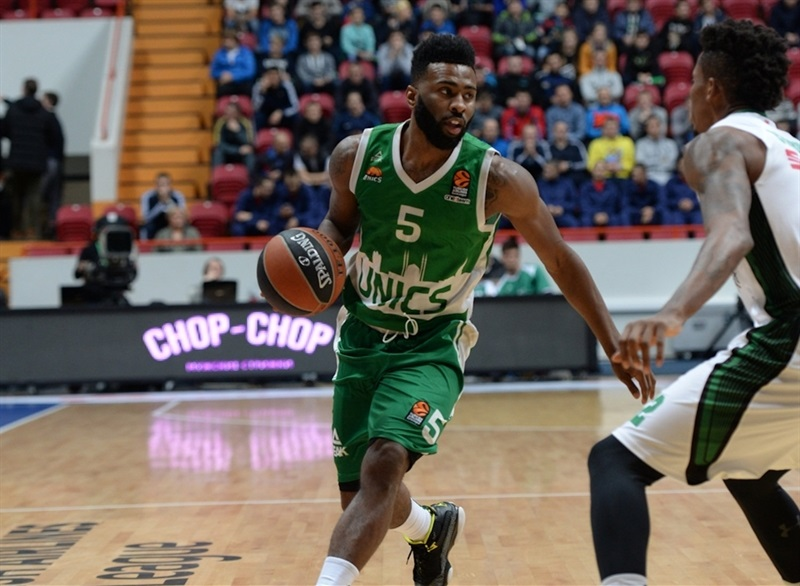 Keith Langford - Unics Kazan - EB16 (photo Unics)