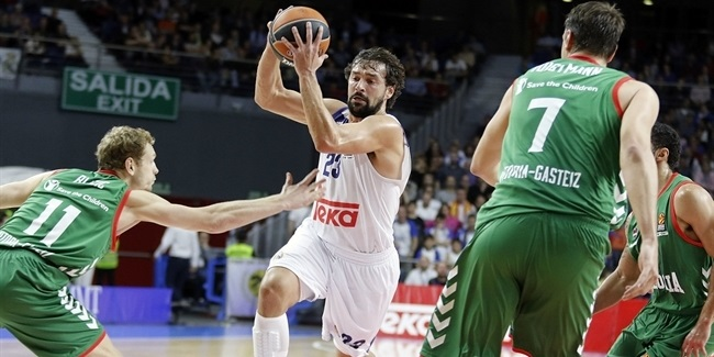 Regular Season, Round 3: Real Madrid vs. Baskonia Vitoria Gasteiz