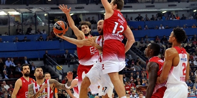 RS Round 3 report: Spanoulis, Green lead Olympiacos past Milan, 91-81