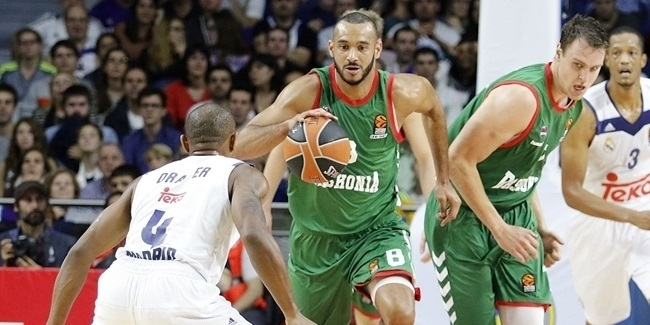 RS Round 3 report: Baskonia, Blazic shock Madrid away, 87-91
