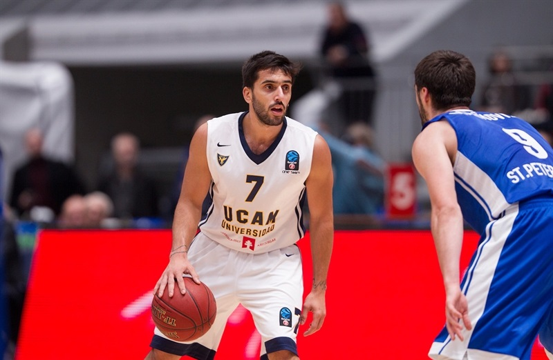 Facundo Campazzo - UCAM Murcia - EC16 (photo Zenit)