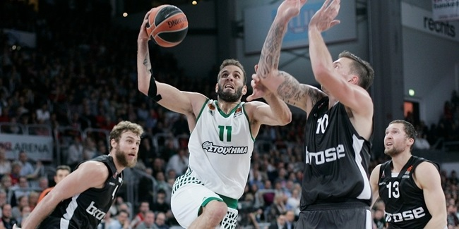 Regular Season, Round 3: Brose Bamberg vs. Panathinaikos Superfoods Athens