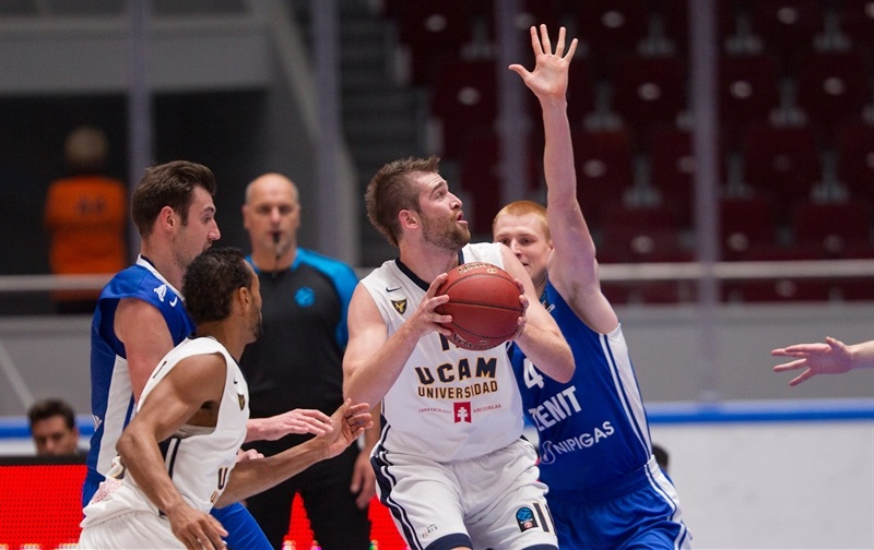Nemanja Radovic - UCAM Murcia - EC16 (photo Zenit)