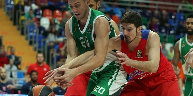 Regular Season, Round 4: CSKA Moscow vs. Unics Kazan
