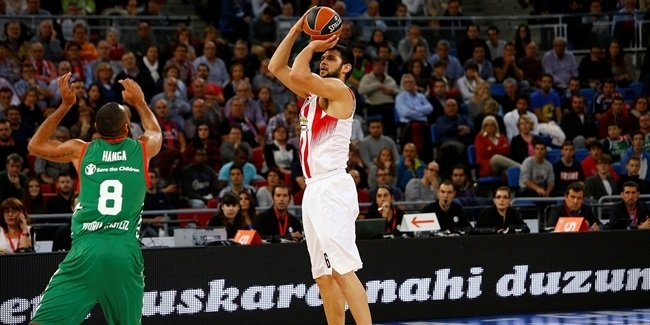 Regular Season, Round 4: Baskonia Vitoria Gasteiz vs. Olympiacos Piraeus