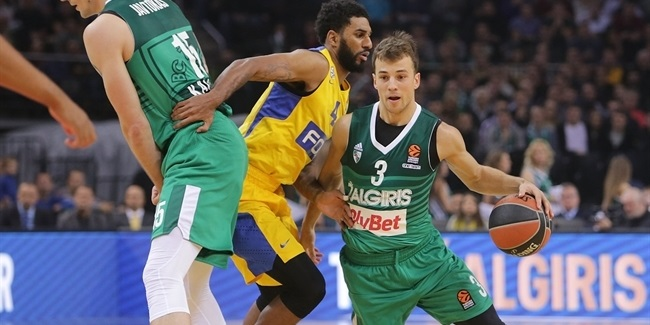 Regular Season, Round 4: Zalgiris Kaunas vs. Maccabi FOX Tel Aviv