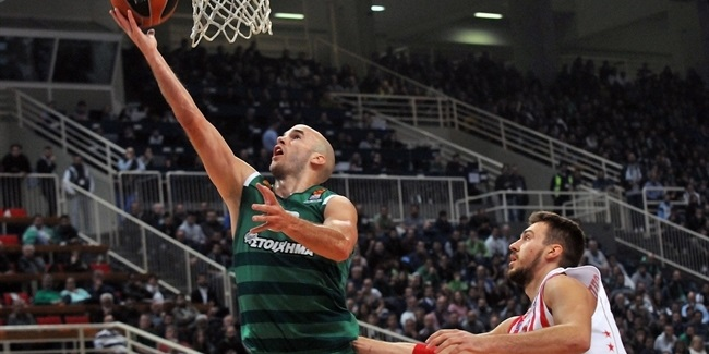 Regular Season, Round 4: Panathinaikos Superfoods Athens vs. Crvena Zvezda mts Belgrade