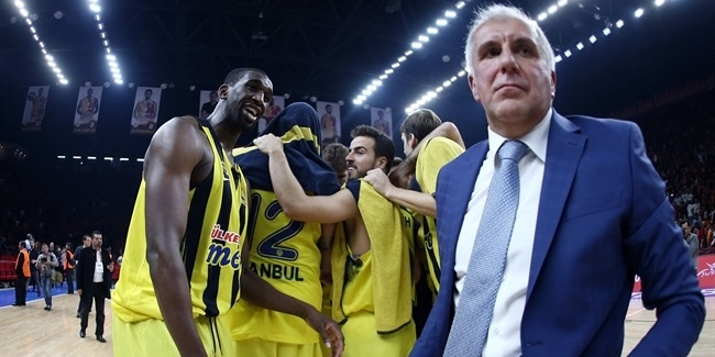 Sloukas, Udoh shine as Fenerbahce wins derby