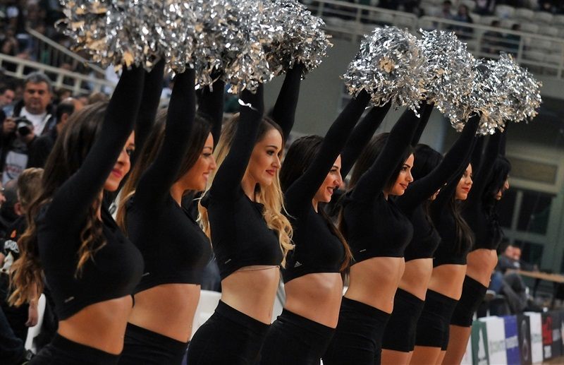 Cheerleaders - Panathinaikos Superfoods Athens - EB16