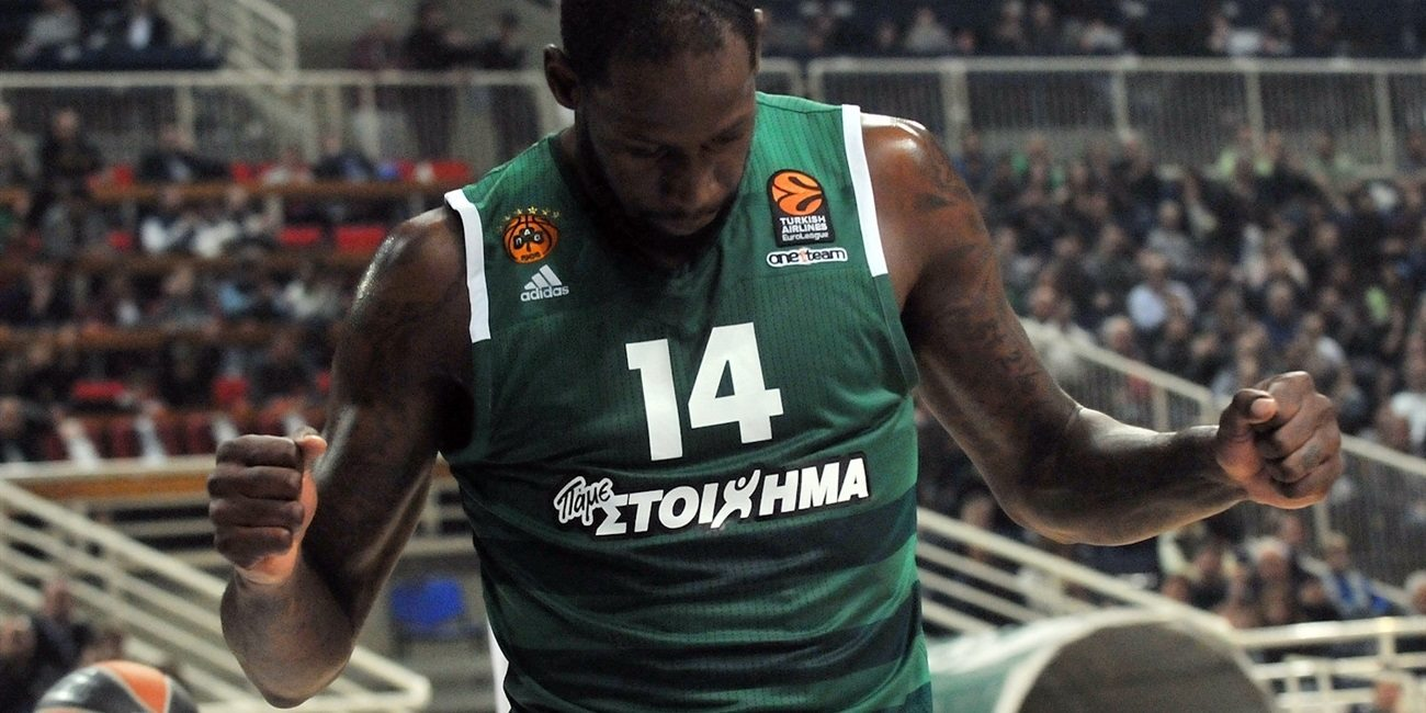 James Gist - Panathinaikos Superfoods Athens - EB16