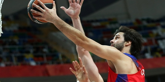 Turkish Airlines EuroLeague MVP for October: Milos Teodosic of CSKA Moscow