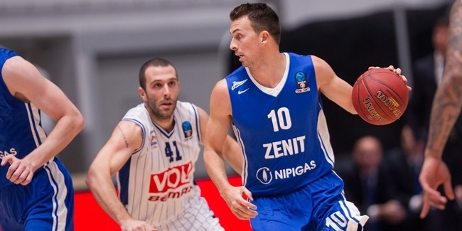 Regular Season, Round 4: Zenit St Petersburg vs. Buducnost VOLI Podgorica