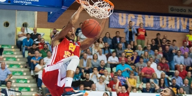 Regular Season, Round 4: UCAM Murcia vs. Unicaja Malaga