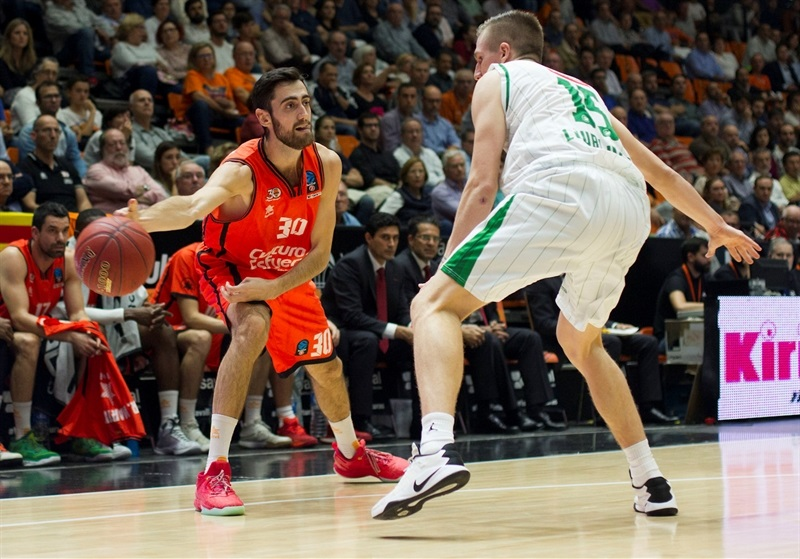 Joan Sastre - Valencia Basket - EC16 (photo Valencia Basket - Miguel Angel Polo)